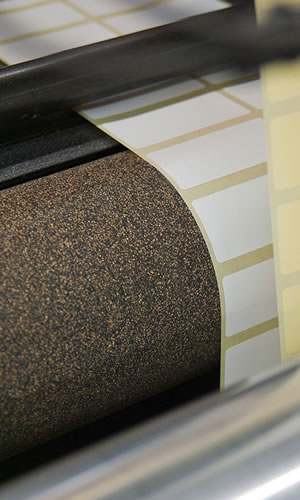 Cork Rubber Roller Coverings