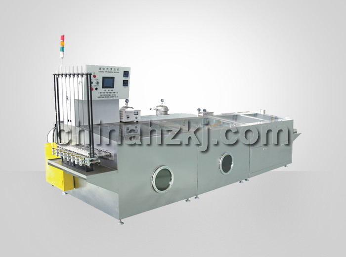 passing-type automated ultrasonic cleaning machines